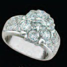 Lds Cubic Zirconia Fashion Ring #491