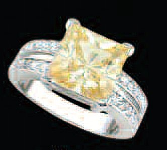 Lds Cubic Zirconia Fashion Ring #492