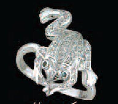 Lds Cubic Zirconia Fashion Ring #496