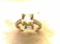 Lds Cubic Zirconia Fashion Ring #533