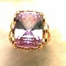 Lds Cubic Zirconia Fashion Ring #538