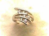 Lds Cubic Zirconia Fashion Ring #565