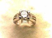 Lds Cubic Zirconia Fashion Ring #568