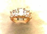 Lds Cubic Zirconia Fashion Ring #580