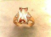 Lds Cubic Zirconia Fashion Ring #584