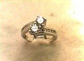 Lds Cubic Zirconia Fashion Ring #585