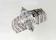 Lds Cubic Zirconia Fashion Ring #607