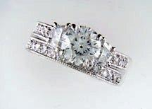 Lds Cubic Zirconia Fashion Ring #615