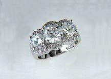 Lds Cubic Zirconia Fashion Ring #618