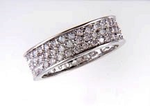 Lds Cubic Zirconia Fashion Ring #623