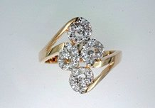 Lds Cubic Zirconia Fashion Ring #631