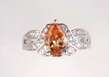 Lds Cubic Zirconia Fashion Ring #632