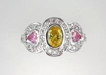 Lds Cubic Zirconia Fashion Ring #638
