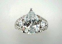 Lds Cubic Zirconia Fashion Ring #647