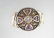 Lds Cubic Zirconia Fashion Ring #663
