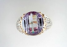 Lds Cubic Zirconia Fashion Ring #664