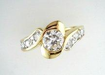 Lds Cubic Zirconia Fashion Ring #668