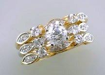 Lds Cubic Zirconia Fashion Ring #678