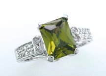 Lds Cubic Zirconia Fashion Ring #683