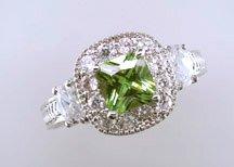 Lds Cubic Zirconia Fashion Ring #693