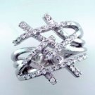 Lds Cubic Zirconia Fashion Ring #695