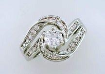 Lds Cubic Zirconia Fashion Ring #698