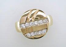 Lds Cubic Zirconia Fashion Ring #702