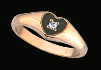 Lds Cubic Zirconia Fashion Ring #1257