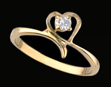 Lds Cubic Zirconia Fashion Ring #1413