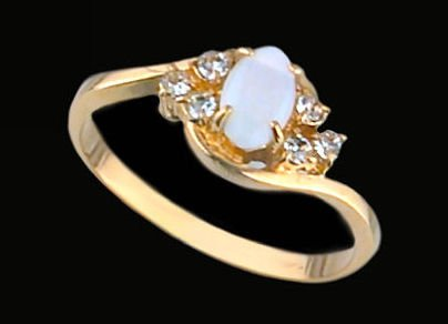 Lds Cubic Zirconia Fashion Ring #1438
