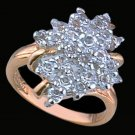 Lds Cubic Zirconia Fashion Ring #1526