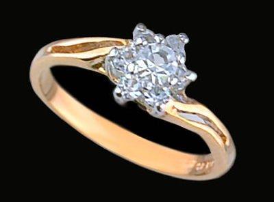 Lds Cubic Zirconia Fashion Ring #1547