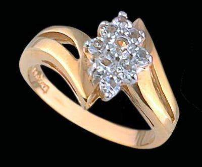 Lds Cubic Zirconia Fashion Ring #1676