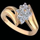 Lds Cubic Zirconia Fashion Ring #1676