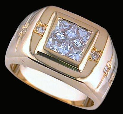 Gentleman's Fashion Ring #2257