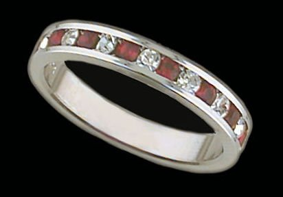 Lds Sterling Silver Ring #4013