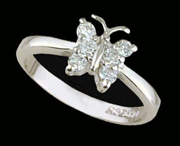 Lds Sterling Silver Ring #4232