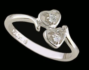 Lds Sterling Silver Ring #4270