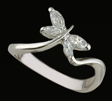 Lds Sterling Silver Ring #4312