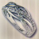 Ladies Cubic Zirconia Fashion Ring #902
