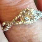 Ladies CZ Fashion Ring #6124
