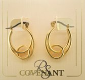 Gold Oval Hoops #7767