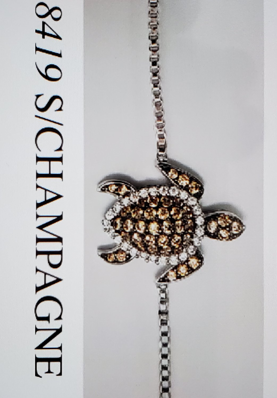 Turtle adjustable bracelet #8419