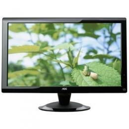 AOC International 20 wide LCD Black