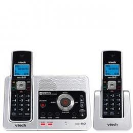 V Tech DECT 6.0 Digital 2HS W/ITAD - Silver