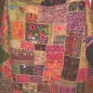 Antique Kuchi patchwork  queen size