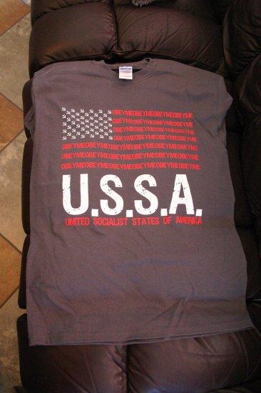 U.S.S.A. flag (Gray)