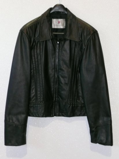 Leather Bomber Jacket Men's Size Small