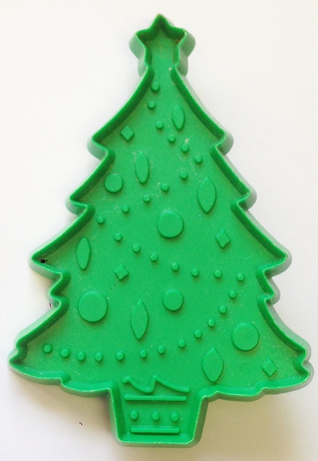 """1970's CHRISTMAS TREE Cookie Cutter by HALLMARK (4 1/4"""" Tall)"""