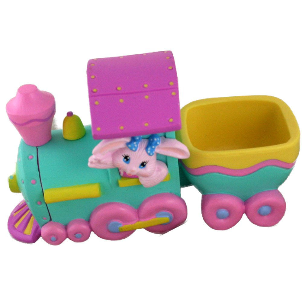 Hallmark Crayola Bunny Easter Eggspress -Figurine 1993